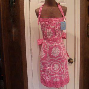 Sis Boom by Jennifer Paganelli Hot Pink Apron